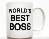 The Office- Worlds Best Boss coffee mug- 11 ounces