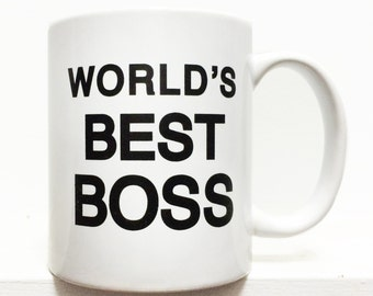 The Office- Worlds Best Boss coffee mug- 11 ounces