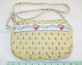 SALE - 1990s Vera Bradley handbag, Elizabeth design, quilted, shoulder bag