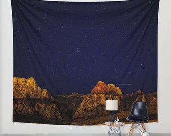 stars wall tapestry.sky wall tapestry,night sky wall tapestry.rocks wall tapestry.mountains wall tapestry.blue wall tapestry.night tapestry