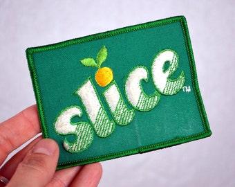 Vintage Slice Soda Lemon Lime Patch