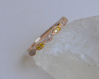 Purple And Yellow K Gold Scapolite Ring