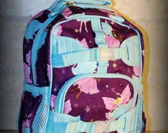 Fairy Pottery Barn Mini Preschooler Backpack - Monogram included