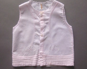 Vintage Pink Baby Summer Shirt Embroidered Philippines