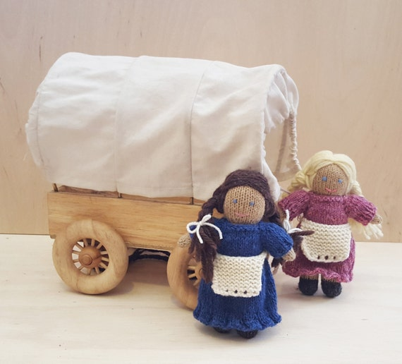Knitting Patterns For Dollhouse Dolls : Little Doll on the Prairie Knitting Pattern Doll House