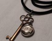 Sherlock Holmes' House Key Necklace