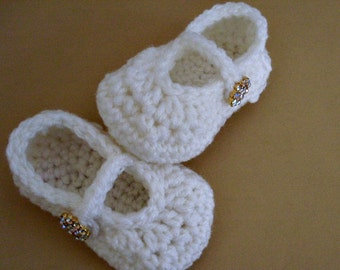 Baby Booties, Mary Janes, Baby Girl Shoes, Many Colors Available