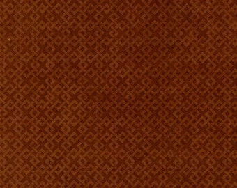 1 Yard fabric - INVENTORY SALE- Wilmington fabric by the yard- color- Brown