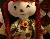 Primitive Annie Sunflower Fall