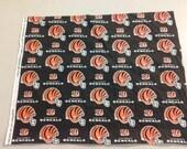 Cincinnati Bengals Fabric 245400