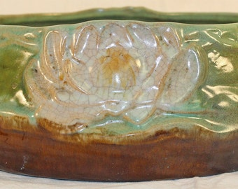 Denver China and Pottery Arts and Crafts Water Lily Bowl
