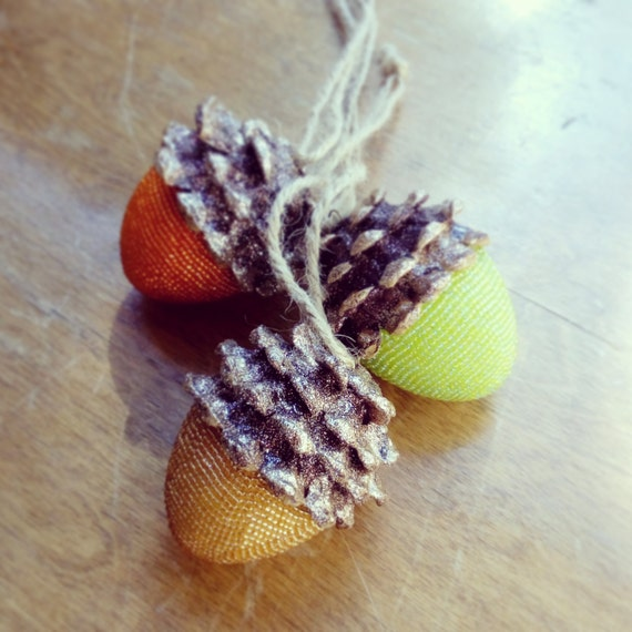 Arts and crafts acorns on pinterest acorn crafts for Acorn necklace craft
