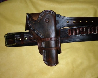 Custom Made to Order holster and gunbelt set
