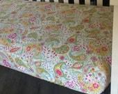 Tiddlywinks Crib Sheet, Tiddlywinks Fabric, Crib Sheet, Best Price, Fitted, Super Soft Crib Sheets, Designer Crib Sheets