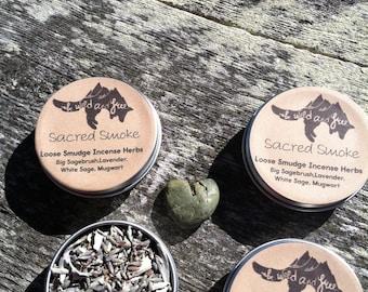 Sacred Smoke Loose Smudge Incense Herbs 1oz