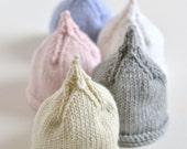 PREEMIE baby beanie knitting pattern Classic Pixie DK