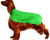 Dog Drying Coat or Slinkie for grooming or protecting coat made of spandex