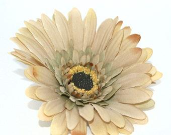 Beige Artistry Daisy - Artificial Flowers, Silk Flower Heads - PRE-ORDER