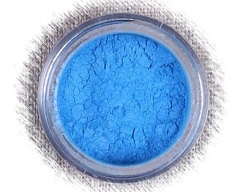 Pool Blue Luster Dust, Edible Luster Dust, Bright Blue Luster Dust, Edible Luster Powder, FDA Approved Luster Dust, Blue Decorating Luster