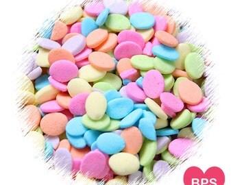 Pastel Easter Egg Sprinkles, Spring Sprinkles, Flower Petal Sprinkles, Pastel Quin Sprinkles, Easter Sprinkles, Easter Cookie Sprinkles