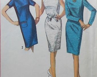 Vintage Dress Pattern Simplicity 6003 Size 12