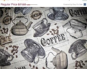 Gorgeous Coffee Fabrics--Beautiful Quilting Fabric