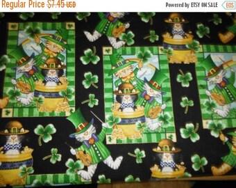 Luck o The Irish Fabrics--St Patrick's Scenes--Fun fabrics--Buyers Choice