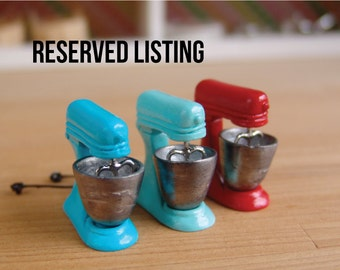 Miniature Food // RESERVED LISTING // Spaghetti and Sushi
