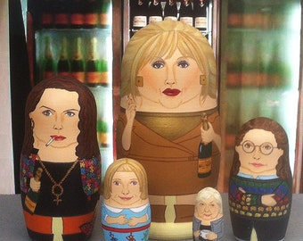 Absolutely Fabulous Matryoshka Dolls