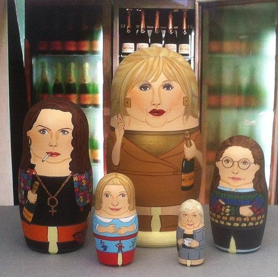 Absolutely Fabulous Matryoshka Dolls