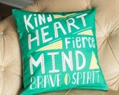 pillow cover quote home decor 16x16