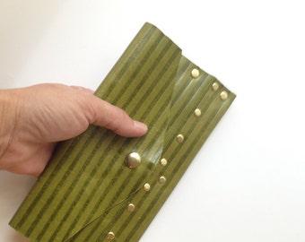 Little Green Clutch Wallet