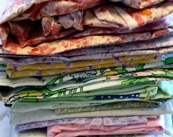 Fabric Grab Bag. Fabric Destash. Cotton Fabric. Bulk Fabric. Lot of Fabric. Fabric by the Box. Vintage Fabric. 7.5+ lbs. Fabric Box 1