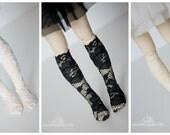 Lace socks for Moe line MNF fairyland minifee MSD BJD