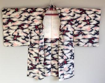 1960s MEISEN Haori KIMONO Cropped BOHO Jacket
