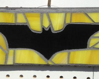 Batman bat symbol mosaic