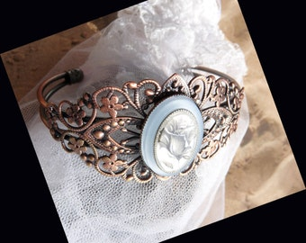 Old Fashioned Copper Bracelet  DC 8657