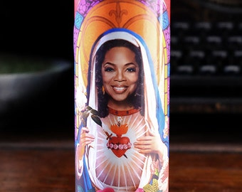 Saint Oprah Winfrey Prayer Candle - best friend gift!