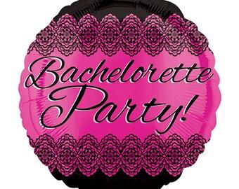 Bachelorette Party Balloon, Bachelorette, Party, Wedding, Balloon, Foil Balloon