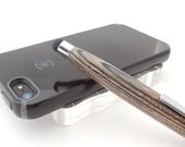 Soft Touch Stylus, Handmade sylus in Charcoal grey colors, for Ipad, Iphone, tablets