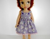 Designed to Fit the Disney Animator Collector Doll, Lavender Flower Sundress, 01-0817