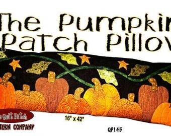Pumpkin Patch Pillow Applique Halloween Autumn The Quilt Patch Pattern