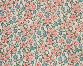 Liberty tana lawn printed in Japan - Celandine - Pale pink