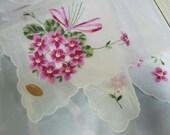 Gift for Bride Vintage Handkerchief