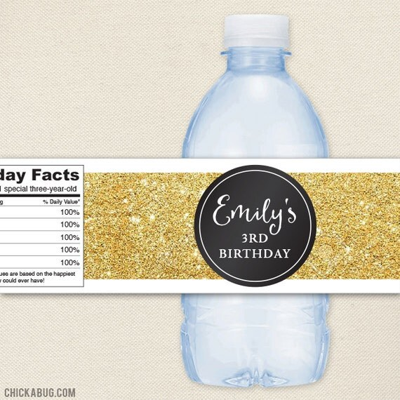 how to make waterproof bottle labels
