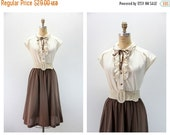 SALE 35% off Med - Large Vintage Dress