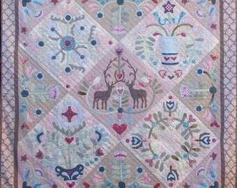 Memories of Gembrook Applique Quilt Pattern Set