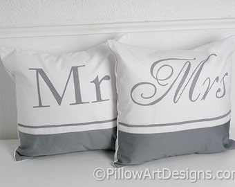 Couples Pillow Covers With Words Saint And Sinner Black And
