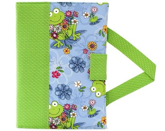 Frog Pond Crayon Artist Case, Ready to ship, Coloring wallet, Crayon wallet, Art tote, Art wallet, Travel toy, Crayons and paper included