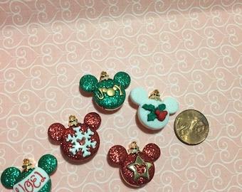 Disney Christmas ornament buttons!